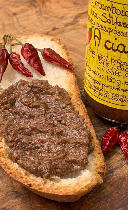 bruschetta ciacrinusa salsa