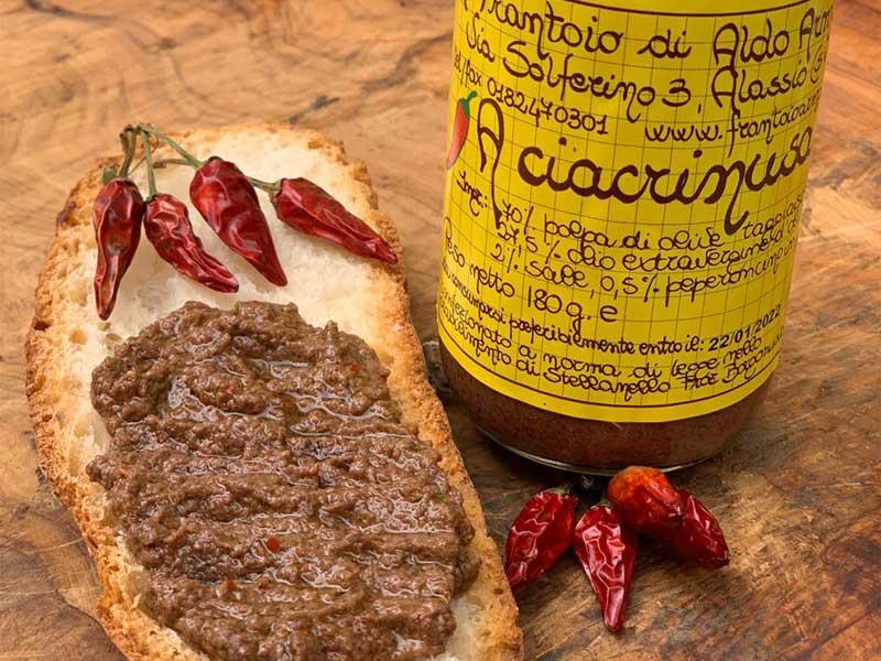 degustazioni prodotti tipici ciacrinusa